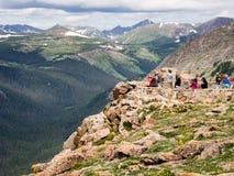 Ospiti alla trascuratezza in Rocky Mountain National Park Fotografia Stock
