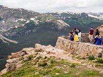 Ospiti alla trascuratezza in Rocky Mountain National Park Immagini Stock Libere da Diritti