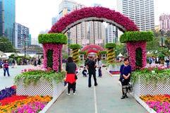 Manifestazione di fiore internazionale di Hong Kong 2013 Fotografia Stock