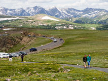 Ospiti in Rocky Mountain National Park Immagini Stock Libere da Diritti
