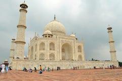 Ospiti a Taj Mahal Fotografie Stock