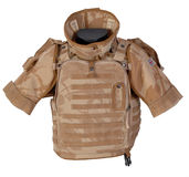 Osprey body armour Royalty Free Stock Image