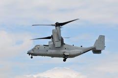 Osprey de los infantes de marina de los E.E.U.U. hasta el rotor Foto de archivo