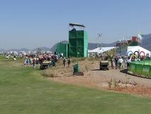 OSRio de Janeiro 2016 - golf Arkivfoton