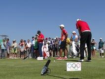 OSRio de Janeiro 2016 - golf Arkivbild