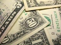 Oss dollarräkningar Royaltyfri Foto