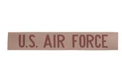 Oss enhetligt emblem för flygvapen Arkivfoton