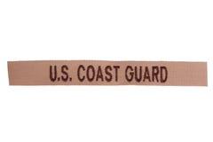 Oss enhetligt emblem för kustbevakning Royaltyfria Bilder