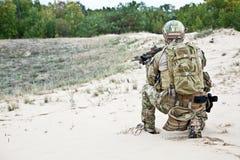 Oss soldat Arkivfoto
