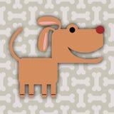 Ossa di cane royalty illustrazione gratis