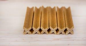 Ossa di cane per i denti Fotografia Stock