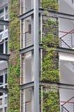 Ossatura muraria moderna all'esterno Fotografia Stock