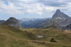 ` Ossau de PIC Midi d photo stock