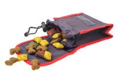 Ossequi del biscotto di addestramento di cani Fotografia Stock
