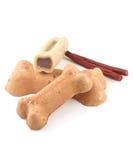 Ossequi del cane Fotografia Stock