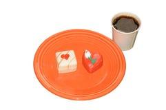 Ossequi della prima colazione Immagini Stock