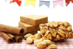 Ossequi delle arachidi Fotografie Stock Libere da Diritti