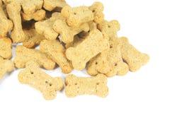 Ossequi dello spuntino dei biscotti di cane Immagine Stock