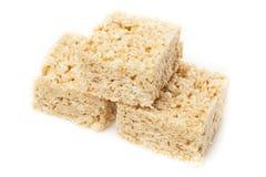 Ossequio croccante del riso della caramella gommosa e molle Fotografia Stock