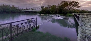 Ossequio del fiume Immagine Stock Libera da Diritti