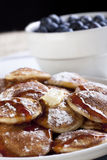 Ossequio del pancake Fotografie Stock Libere da Diritti