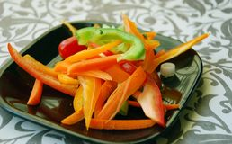 Ossequio dell'insalata Fotografia Stock Libera da Diritti
