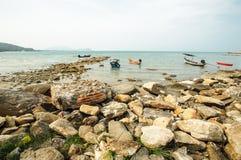 Osserva il bello andaman del mare Fotografia Stock