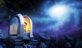 osservatorio illustrazione di stock