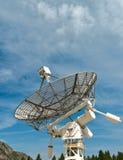Osservatorio astrofisico radiofonico Immagini Stock