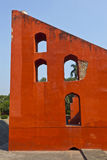 Osservatorio astronomico Jantar Mantar Fotografia Stock