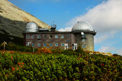 Osservatorio astronomico Slovacchia Immagine Stock