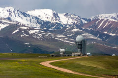 Osservatorio del assy-Turgen nel Kazakistan Immagine Stock Libera da Diritti