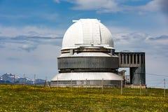 Osservatorio del assy-Turgen nel Kazakistan Immagini Stock Libere da Diritti