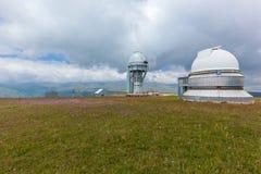 Osservatorio dell'alta montagna Fotografie Stock Libere da Diritti