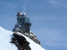 Osservatorio della Sfinge, plateau di Jungfrau, alpi svizzere, Svizzera Immagine Stock