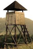 Osservatorio di caccia Fotografie Stock Libere da Diritti
