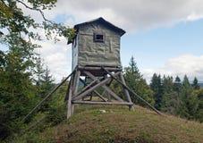 Osservatorio di caccia Fotografia Stock Libera da Diritti