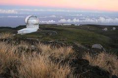 Osservatorio di Canarie, La Palma Fotografie Stock