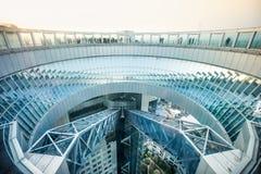 Osservatorio di galleggiamento del giardino della costruzione del cielo di Umeda Fotografia Stock