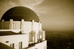 Osservatorio di Griffth Immagine Stock