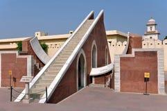 Osservatorio di Jantar Mantar Immagini Stock Libere da Diritti