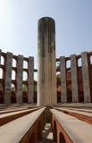 Osservatorio di Jantar Mantar, Delhi Immagine Stock Libera da Diritti