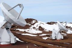 Osservatorio di Mauna Kea Fotografia Stock Libera da Diritti