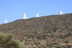 Osservatorio di Teide - Tenerife Immagine Stock