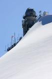 Osservatorio e sullo Sphinx svizzero della montagna Fotografie Stock Libere da Diritti