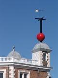 Osservatorio Inghilterra di Greenwich Fotografia Stock Libera da Diritti