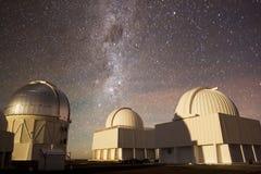 Osservatorio interamericano di Cerro Tololo Immagine Stock Libera da Diritti