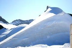 Osservatorio lo Sphinx nelle alte montagne svizzere Immagine Stock Libera da Diritti