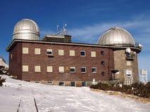 Osservatorio nell'alto Tatras Immagini Stock Libere da Diritti