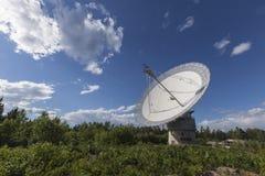 Osservatorio radiofonico del Algonquin - parco del Algonquin Immagine Stock